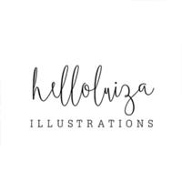 Studio @helloluizaillustrations de Luiza Alcântara